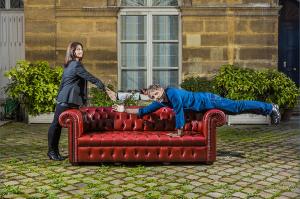 Cristina Reali et Stéphane Guillon – Gala octobre 2013