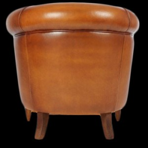 fauteuil club bristol vue de dos longfield 1880. Black Bedroom Furniture Sets. Home Design Ideas