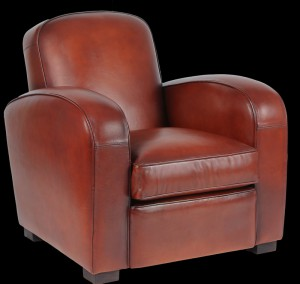 fauteuil club longfield en cuir de basane longfield 1880. Black Bedroom Furniture Sets. Home Design Ideas