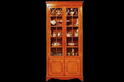 vitrine anglaise 2 portes longfield 1880. Black Bedroom Furniture Sets. Home Design Ideas