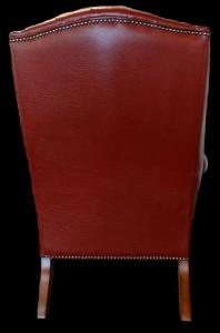 bergere-Annglaise-vue-de-dos-en-cuir-de-buffle-coloris-mahogany