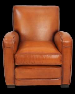 fauteuil-club-Jack-en-cuir-de-basane-pleine-fleur-coloris-miel-clair