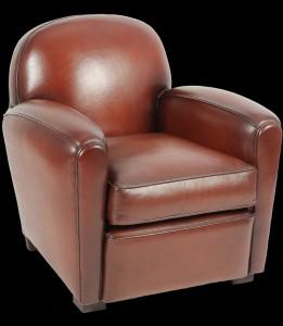 fauteuil-club-mini-en-cuir-de-basane-pleine-fleur-patine-et-cire-main-4