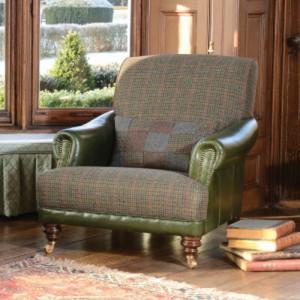 fauteuil-anglais-taransay-gents-cuir-et-tissu