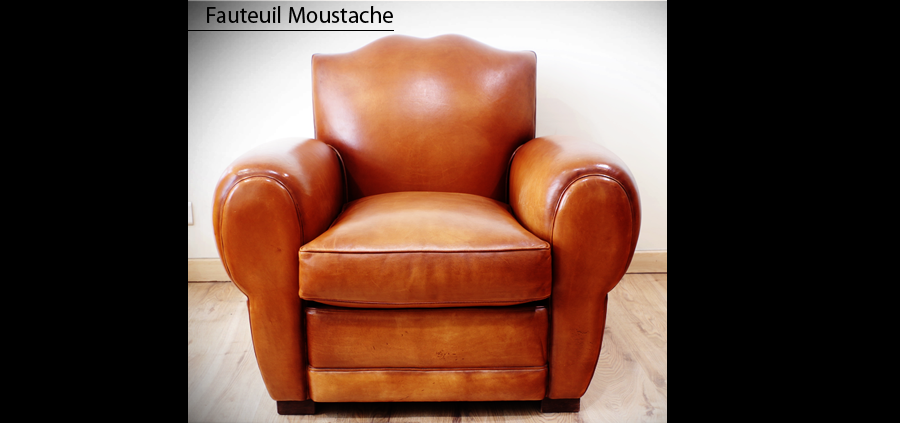 fauteuil club moustache longfield 1880. Black Bedroom Furniture Sets. Home Design Ideas