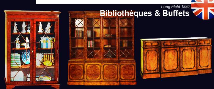 Bibliothèques & buffets