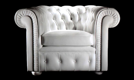 Petit fauteuil Chesterfield