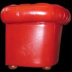 Fauteuil-Chesterfield-cuir-de-buffle-coloris-rouge-assise-coussin-plume-3
