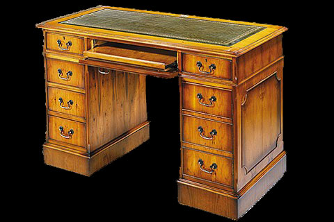 bureau anglais caisson informatique longfield 1880. Black Bedroom Furniture Sets. Home Design Ideas