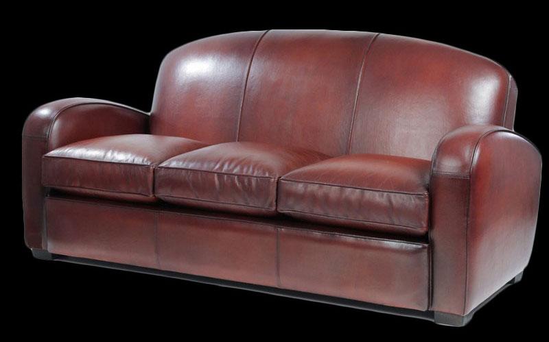 canape cuir pleine fleur 3 places. Black Bedroom Furniture Sets. Home Design Ideas