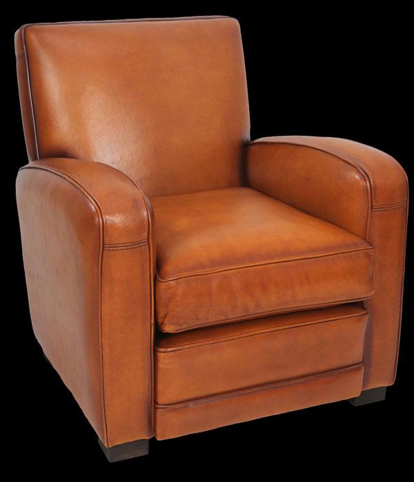 fauteuil club jack en cuir de basane pleine fleur coloris miel longfield 1880. Black Bedroom Furniture Sets. Home Design Ideas