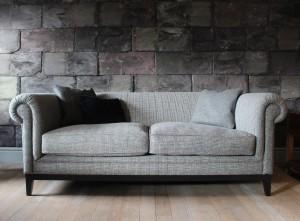 Canapé Anglais Highgrove en tissus