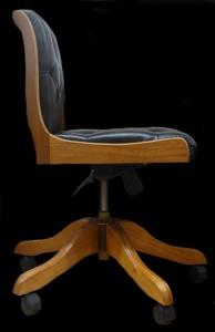 Chaise de bureau vue de face Regency